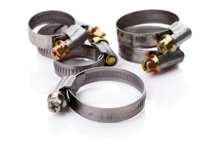 Industrial Hose Accessories - Clamps Crimp Sleeves & More